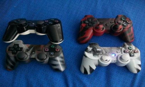 custom painted ps3 controllers