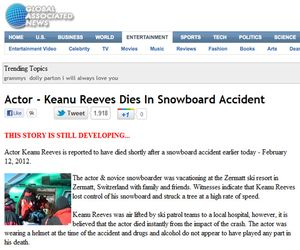 Celeb Holiday Accident Scams