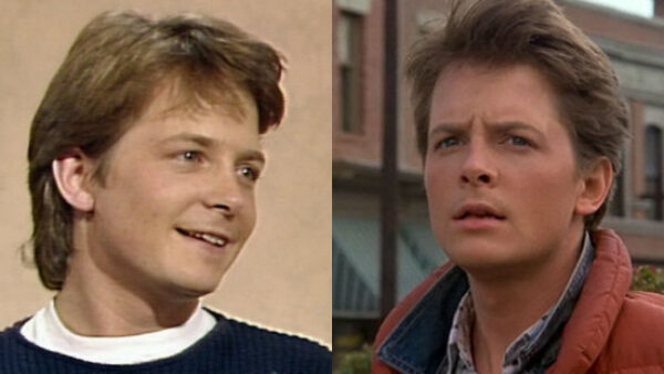Michael J. Fox as Marty McFly