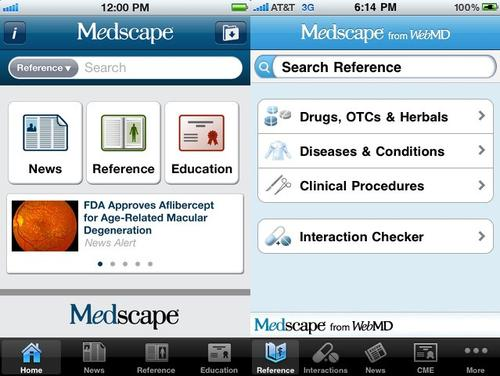 medscape iphone app