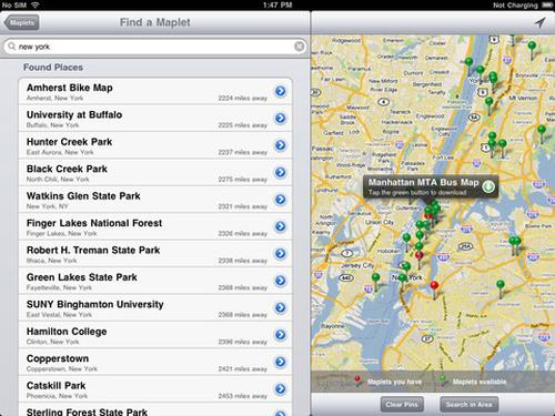 maplets iphone app