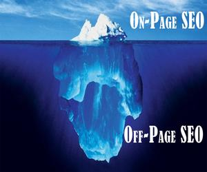 off-site SEO vs on-page SEO