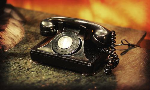 old phone used in crime
