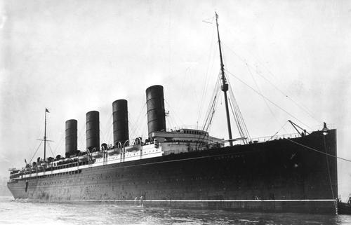 The Sinking of the Lusitania During WWI