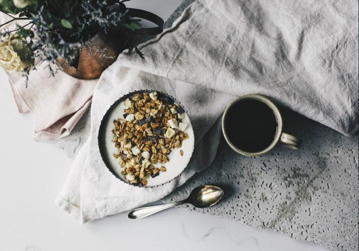 céréales, granolas, food, vivre avec moins