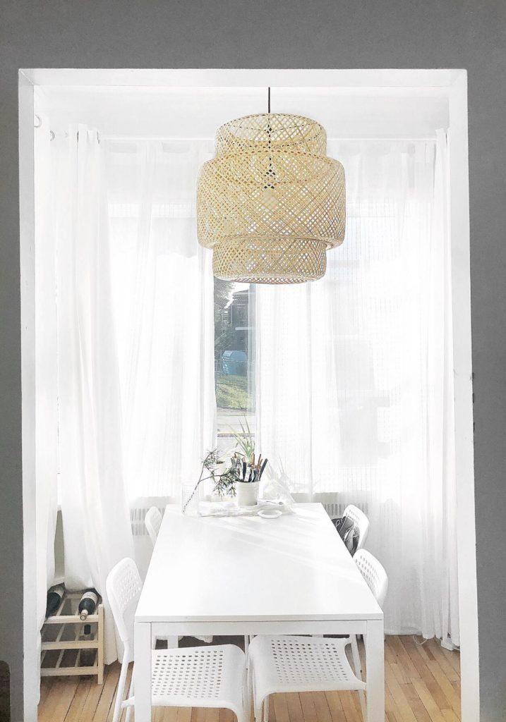 ikea, home decor, light, windows, wine, home decor, décoration