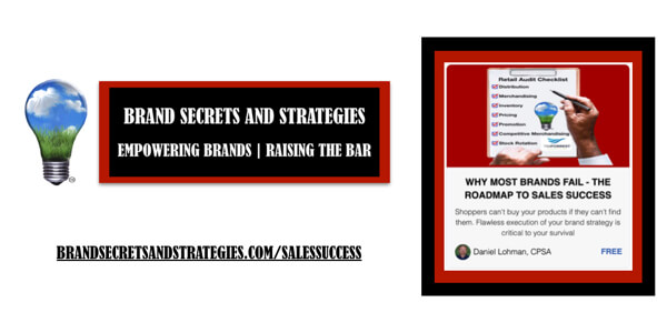 WHY MOST BRANDS FAIL – THE ROADMAP TO SALES SUCCESS
