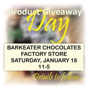 Free Product Giveaway @ Barkeater Chocolates Factory Store