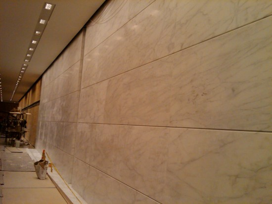 1290 Avenue of the Americas 4 –  Finished Wall