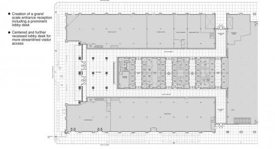 1290 Avenue of the Americas 6 – Ground Floor Plan