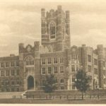 Keating Hall at Fordham University Rose Hill Campus 1940s