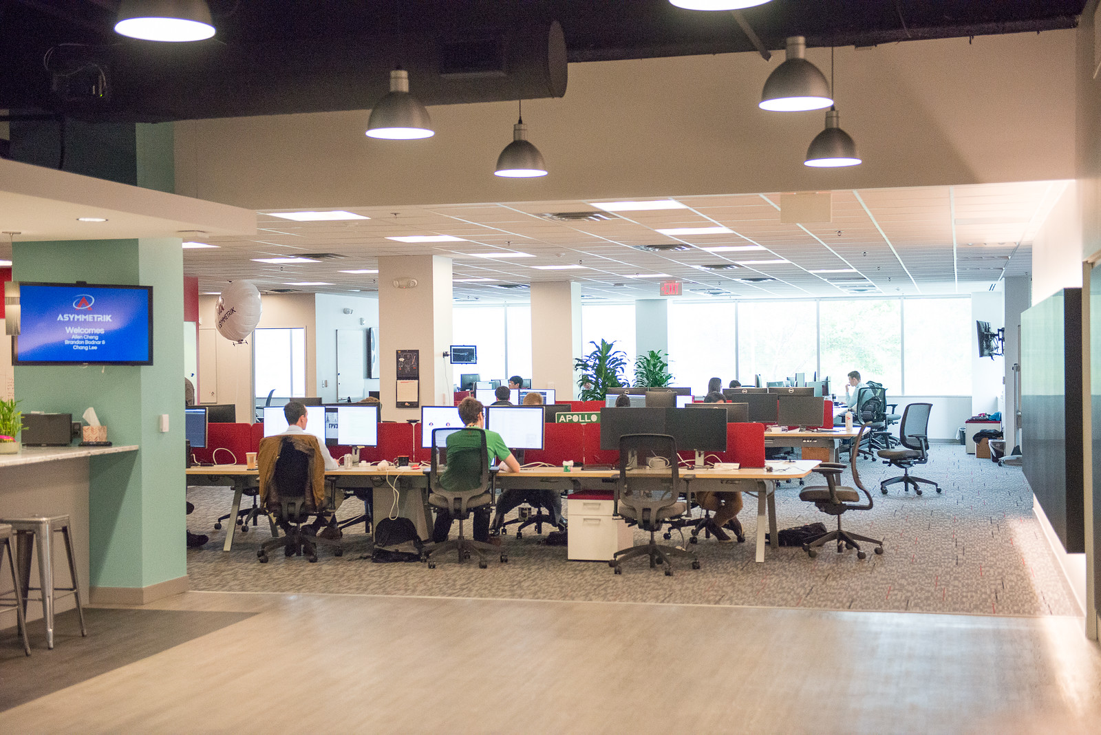 Technical.ly visits the Asymmetrik office to find out how we've kept our culture as we've grown