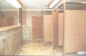 equestrian center restroom remodel