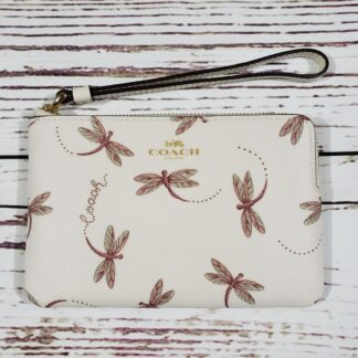 Coach Dragonfly Wristlet