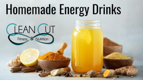 Homemade Energy Drinks