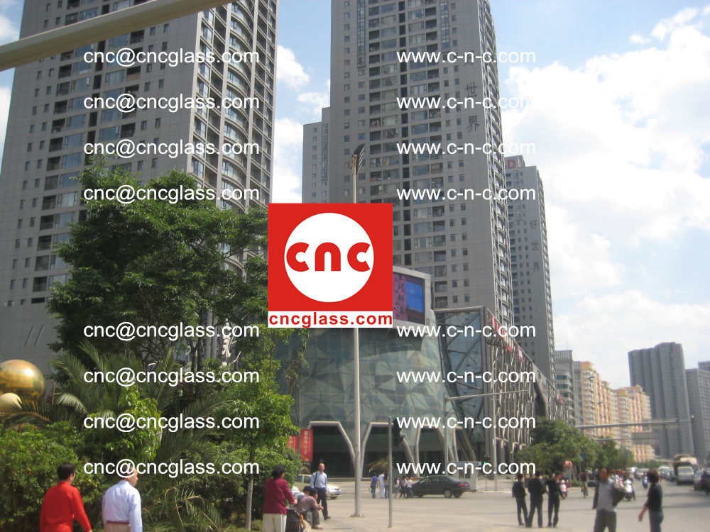 EVA FILM safety laminated glass applied in buildings (3)