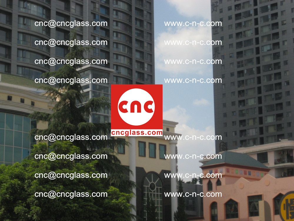 EVA FILM safety laminated glass applied in buildings (7)