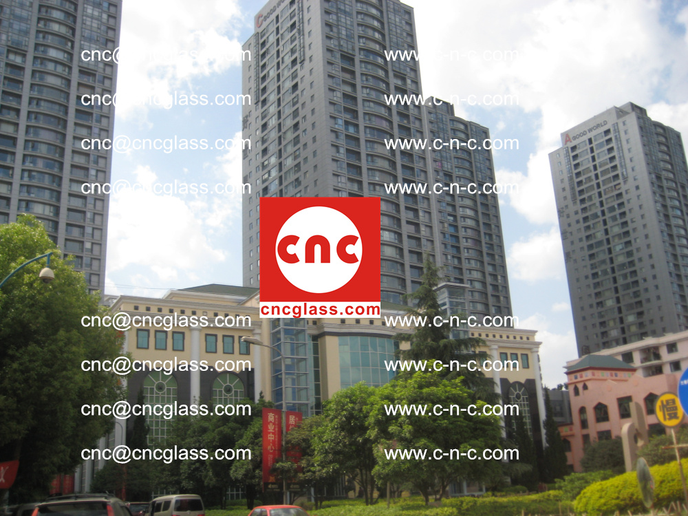 EVA FILM safety laminated glass applied in buildings (8)