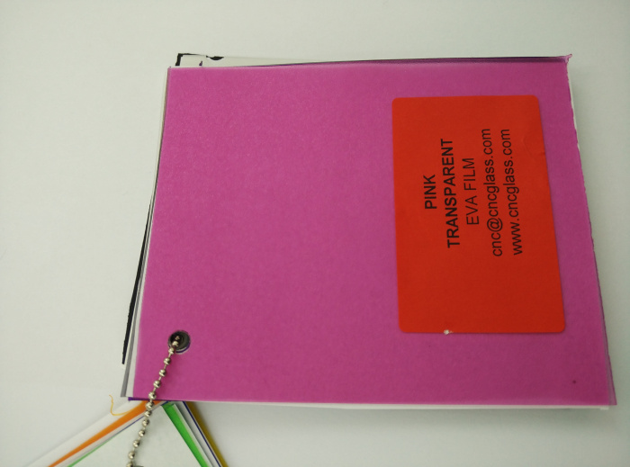 Pink EVAVISION transparent EVA interlayer film for laminated safety glass (29)