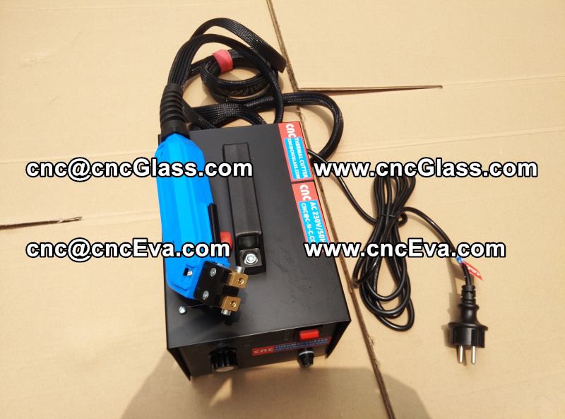 HEAT TRIMMER for laminated glass edges Hot Knife, Thermal Cutter (2)