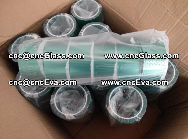 Oven green tape Green Vacuum Tape Lami green tape (4)