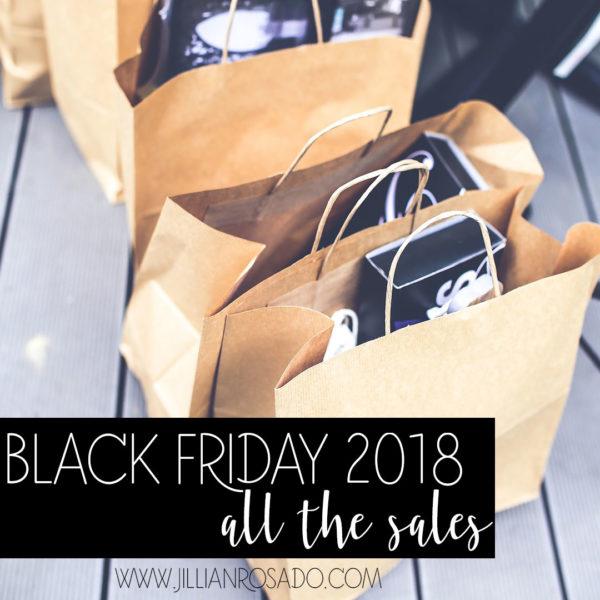 Black Friday Sales 2018 Jillian Rosado