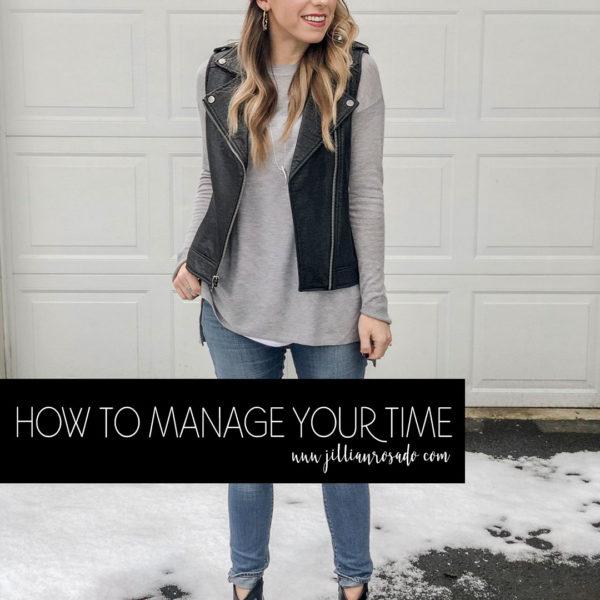 Time Management Jillian Rosado