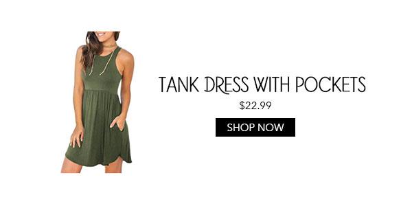 Amazon Tank Dress with Pockets