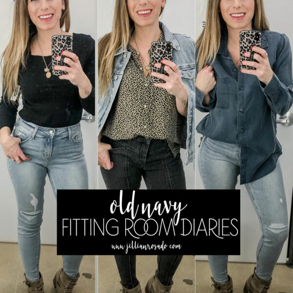 Old Navy Fitting Room Diaries Winter 2020