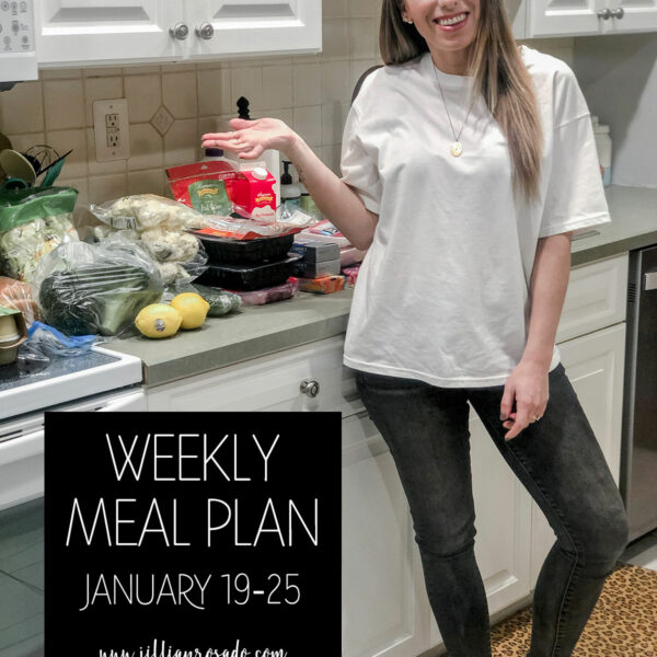 Weekly Meal Plan Jillian Rosado Keto Low Carb Skinnytaste
