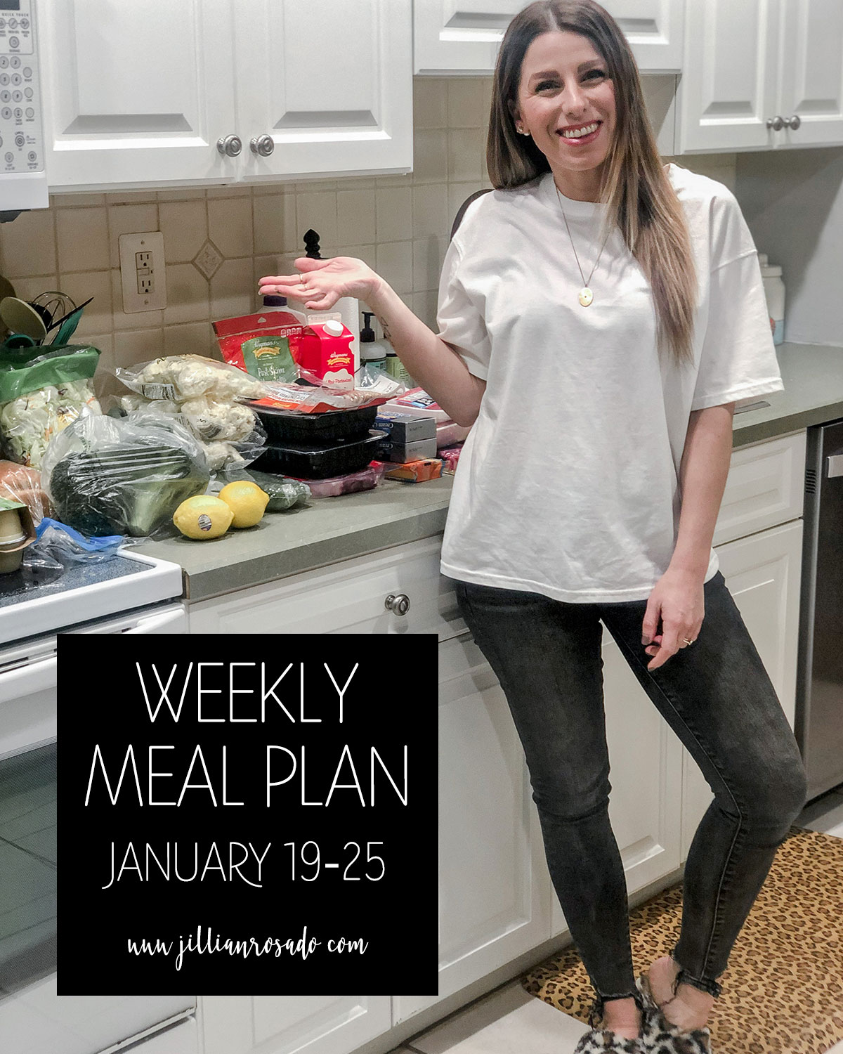 Weekly Meal Plan Jillian Rosado Keto Low Carb Skinnytaste