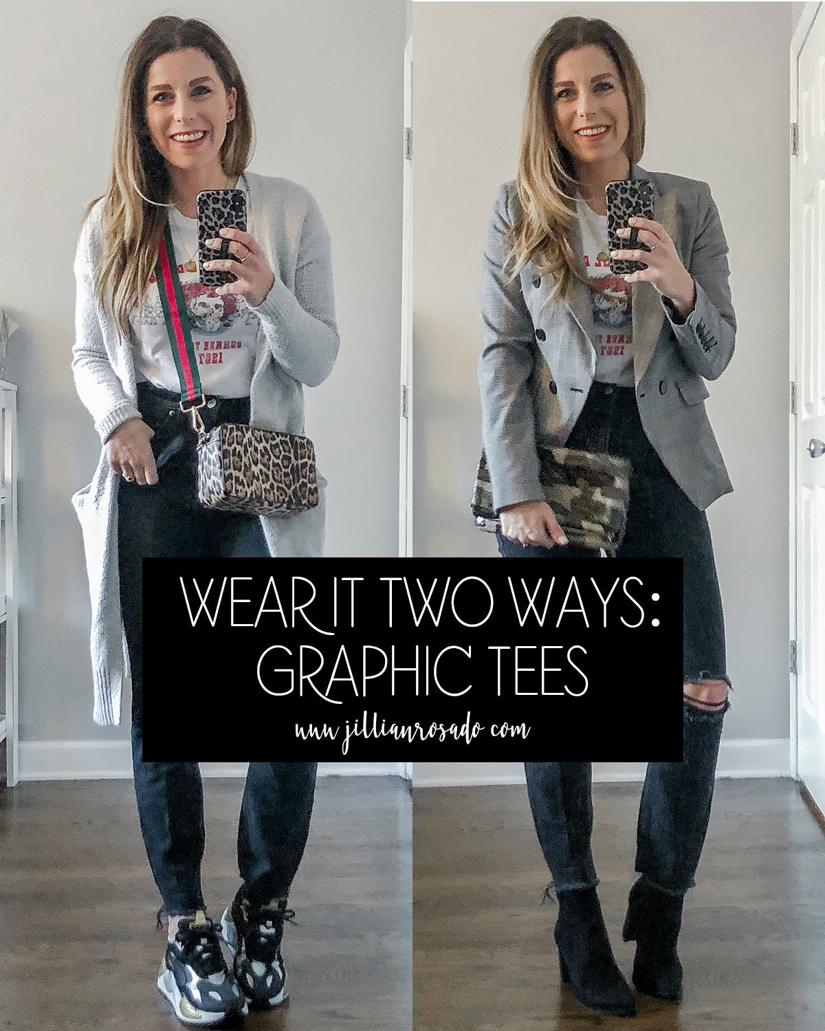 Wear It Two Ways Graphic Tees Outfits