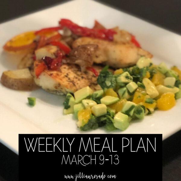 Weekly Meal Plan Skinnytaste Recipes