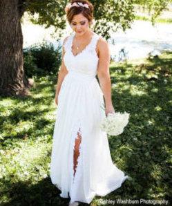 wedding dress redesign