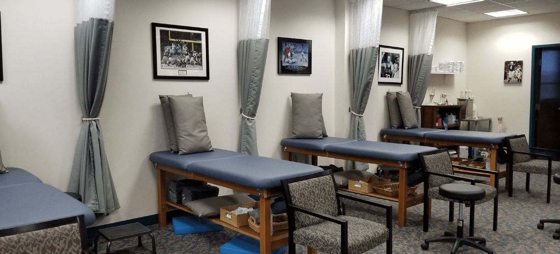 physical therapy patient bed