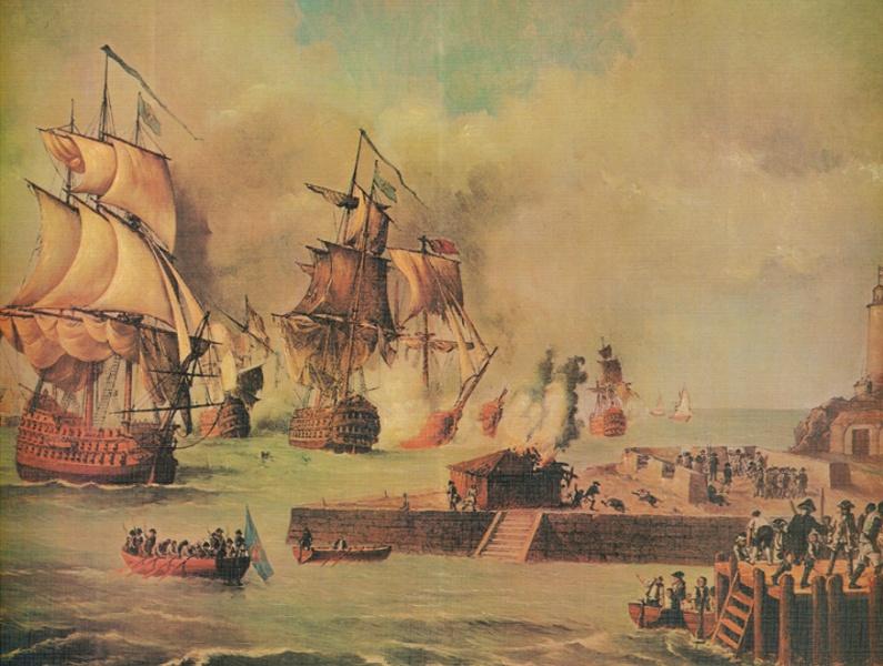 Defensa_de_Cartagena_de_Indias_por_la_escuadra_de_D._Blas_de_Lezo,_año_1741