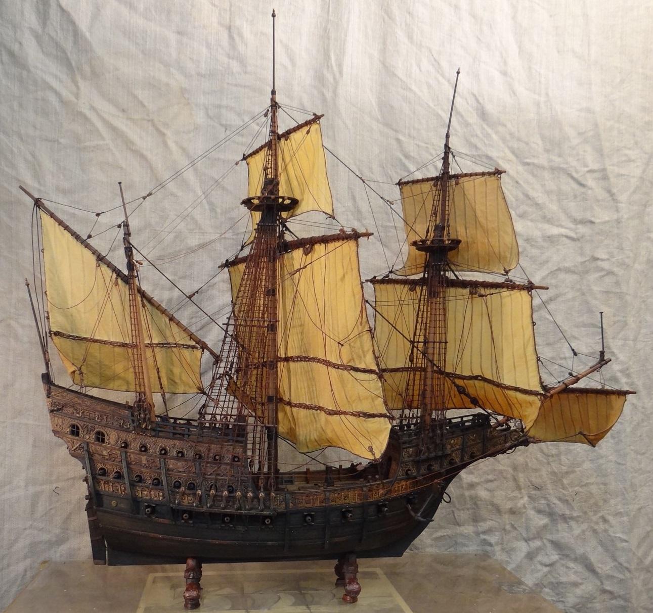 Old Nau - Carrack model