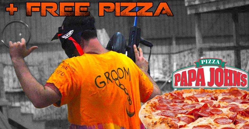 FREE Pizza and Paintball