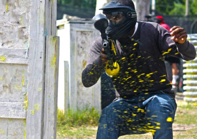 Paintball Splatters Action