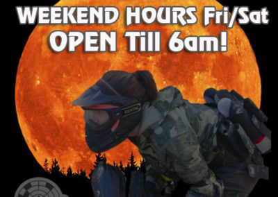 OPEN EVERYDAY and EXTRA LONG HOURS on WEEKENDS