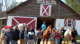 BRMA group photo at B-Bar Stables