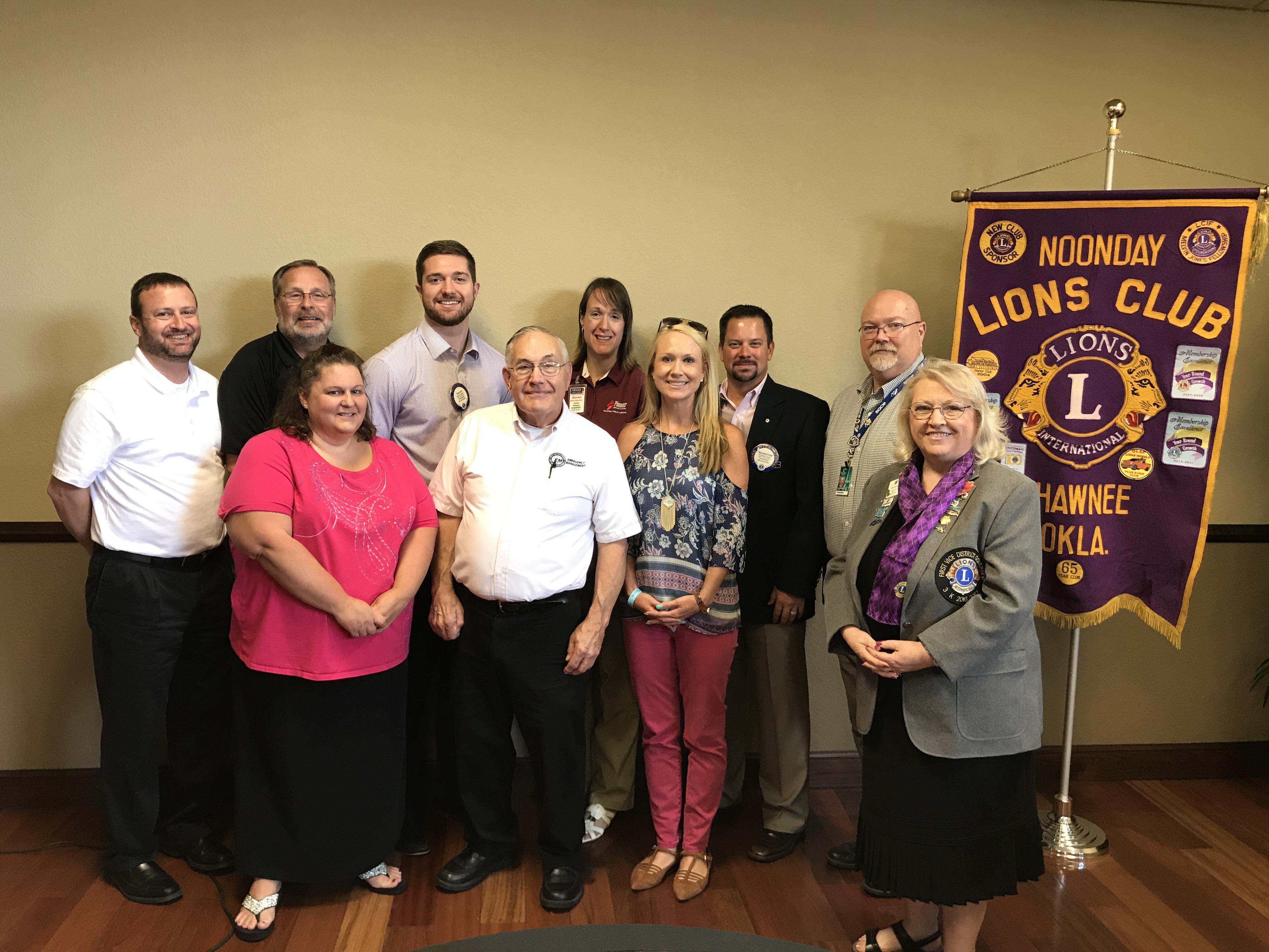 Shawnee Lions Club Board