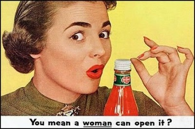 NOT Success Ads – EVEN WOMEN CAN OPEN IT!  Vintage Advertising