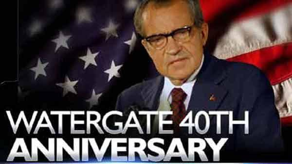 Watergate 40th Anniversary – Timing Couldn't Be Better or Worse for Obama