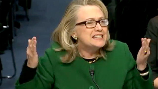 WHAT DIFFERENCE DOES IT MAKE? Lots of Benghazi Answers for Hillary