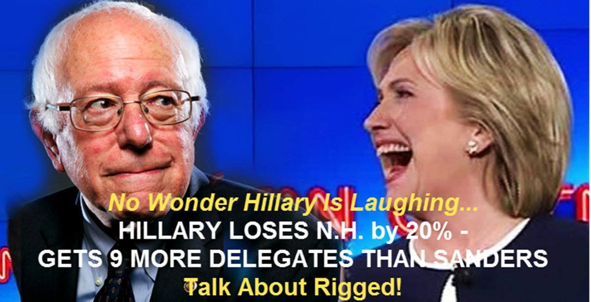 Election Rigged Hillalry Lauaghing