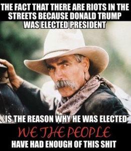 Trump was Elected Because Democrats Were Rioting