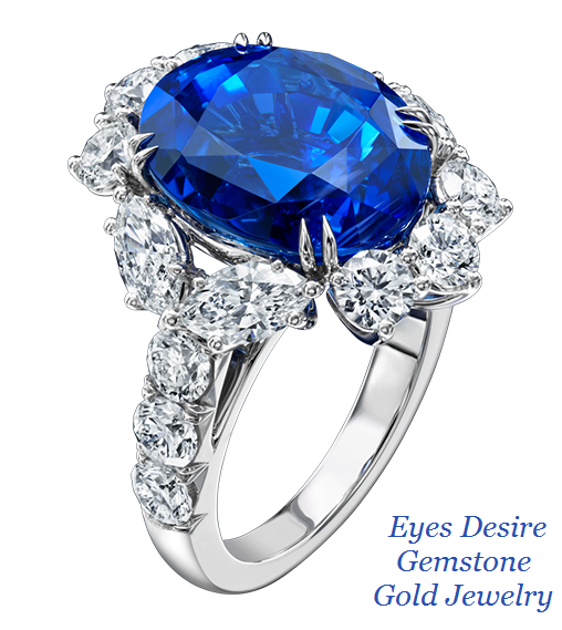 Eyes Desire Gemstone Gold Jewelry