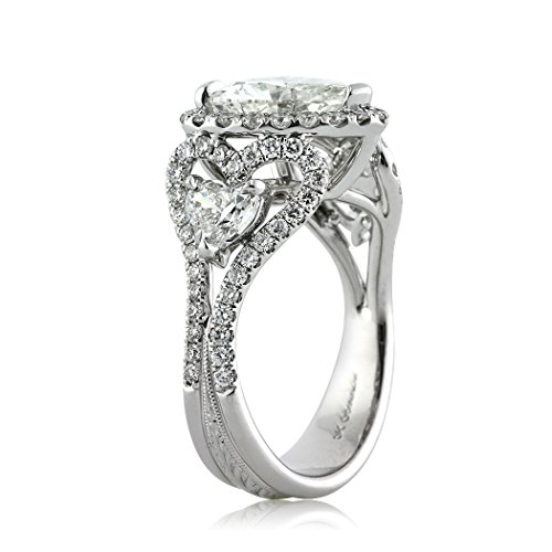 Mark Broumand 4.25ct Heart Shaped Diamond Engagement Ring From Mark Broumand Price: $28,745.00