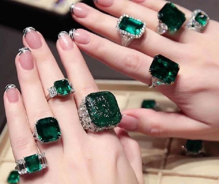 A Spectacular Selection of Emerald Rings